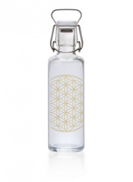 Soulbottle 'Flower of Life' - 0,6 l