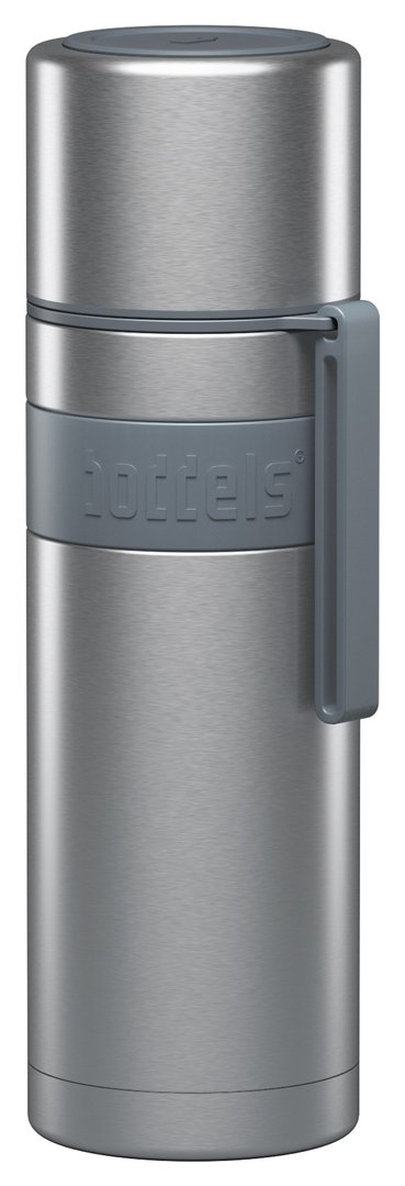 Boddels Heet 500 ml Isolierflasche grey