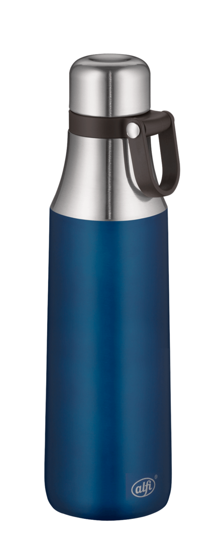 Alfi City Bottle Loop Thermosflasche Edelstahl 500 ml dark blue