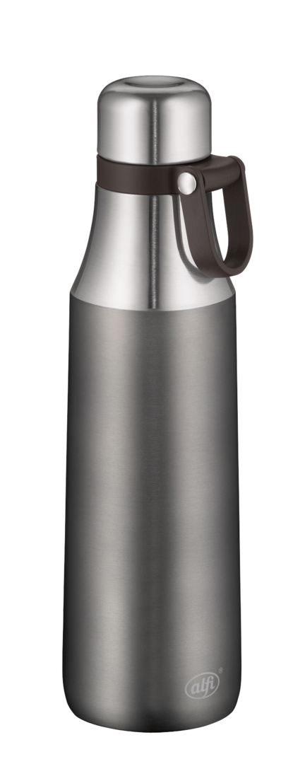 Alfi City Bottle Loop Thermosflasche Edelstahl 500 ml cool grey