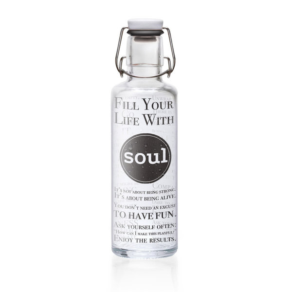 Soulbottle 'Fill your life with Soul' - 0,6 l